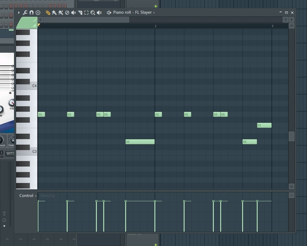 Fl studio tutorial changing the tone of the piano roll when your piano roll appears scroll down to where you can see the c3 c4 range of the piano keys on the left once you see that compose this into the piano baditri Choice Image